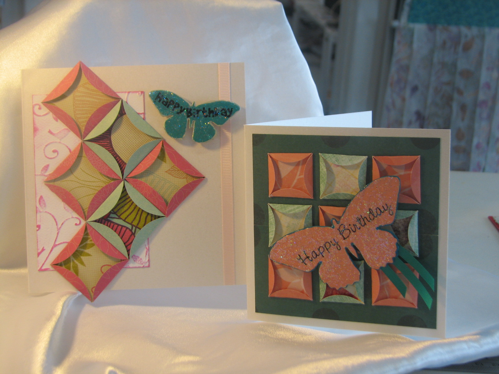 Paper Quilting | Purple Paper House : quilted cards - Adamdwight.com