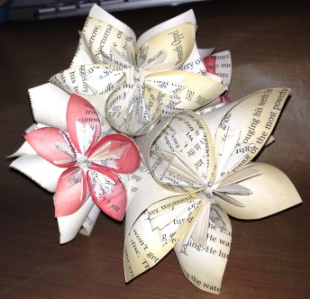 Origami Paper Flower Ball