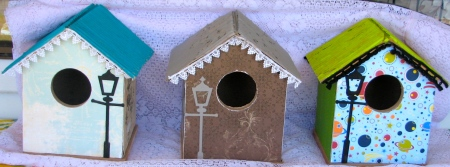 Cute Bird Houses . Friday 3rd January