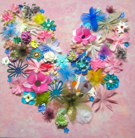Flower Heart Canvas . Friday 28th December Thursday 16th January