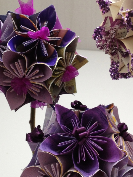 Origami Paper Flower Ball . Tuesday 31st January Friday 17th january