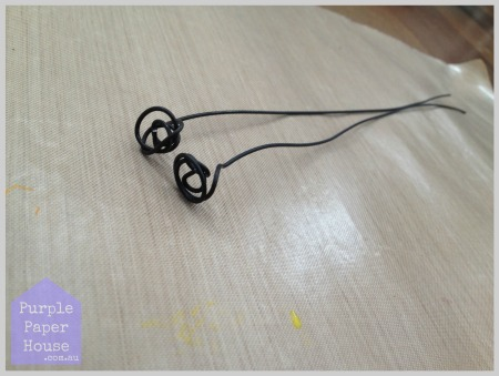 Step 8 - Cut wire to 30cm